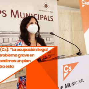 """Débora García (Cs):""""La ocupación ilegal de pisos es un problema grave en Reus y por eso pedimos un plan municipal contra esta práctica"""""""
