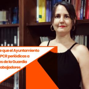 Ciutadans (Cs) Reus propone que el Ayuntamiento realice pruebas PCR periódicas a todos los agentes de la Guardia Urbana y a los trabajadores esenciales
