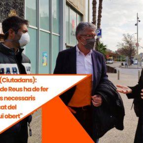 """Matías Alonso (Ciutadans): """"L'Ajuntament de Reus ha de fer tots els esforços necessaris perquè el mercat del Carrilet continuï obert"""""""