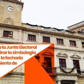 Cs reclama a la Junta Electoral que haga retirar la simbología partidista de la fachada del ayuntamiento de Reus