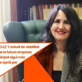 """Débora García (Cs): 'L'estudi de viabilitat no demostra que la futura empresa energètica municipal sigui més eficaç ni la millor opció per als ciutadans"""""""